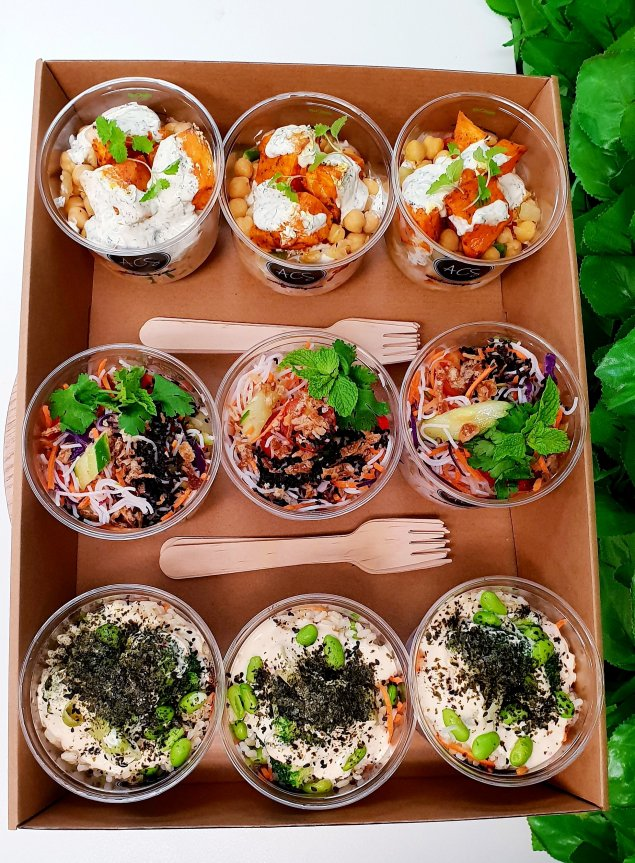 Vegetarian Salad Pot Platter