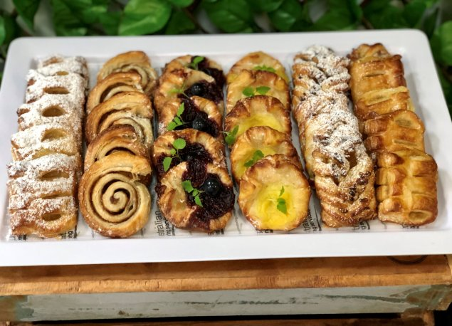 Mixed danishes  platter