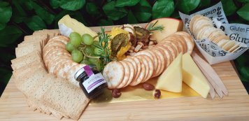 Trio cheese platter