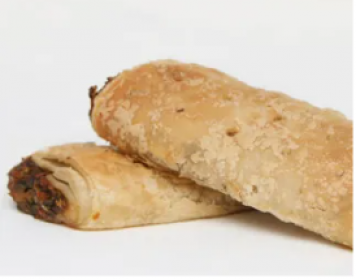 16. Vegan sausage roll