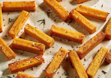 Polenta chips platter