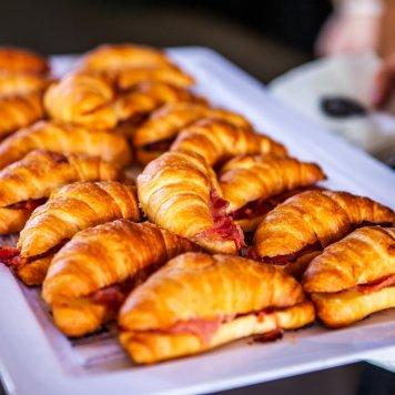 Petite croissant platter