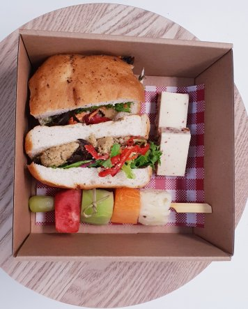 1. Chef selection - Vegetarian box